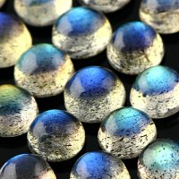 Labradorite AAA 4mm cabochon round