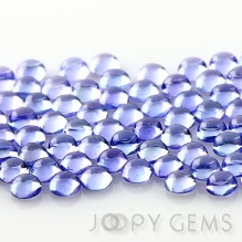 Joopy Gems Tanzanite cabochon 3mm round