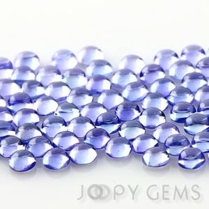 Joopy Gems Tanzanite cabochon 3mm round