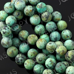 Joopy gems Turquoise beads 9-10mm matt finish