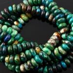 Joopy Gems Chrysocolla beads, 7-8mm gloss finish