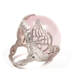 Agrigento winged quartz ring