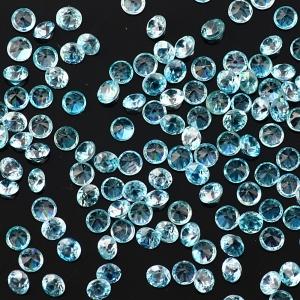 Joopy Gems Blue zircon 2.5mm round