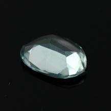 Aquamarine Rose Cut Freeform 2.350 carats, 12x8.9x3.3mm, $25.50