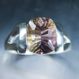 EVGAD ametrine and sterling silver ring, $89