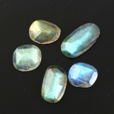 Labradorite Rose Cut Freeform, 8.675 carats (tcw), 9.13.5mm, $19.10