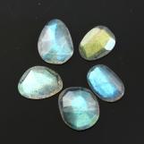 Labradorite Rose Cut Freeform, 8.71 carats (tcw), 9-11mm, $19.15
