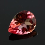 Light Orange-Pink Tourmaline Pear, 1.04 carats, 8x6x3.8mm, $79