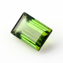 Green Tourmaline Rectangle, 1.4 carats, 8.4x5.7x3.4mm, $106