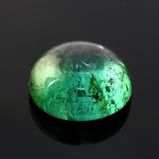 Joopy Gems Tourmaline blue-green cabochon, 15.1mm, 14.070 carats, $485