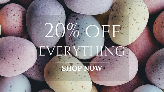 Joopy Gems Easter 2017 20% discount offer