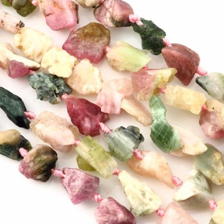 Joopy Gems Rough Tourmaline Beads