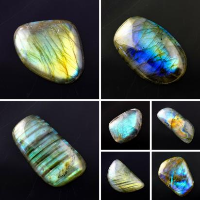 Joopy Gems Labradorite Freeform Cabochons