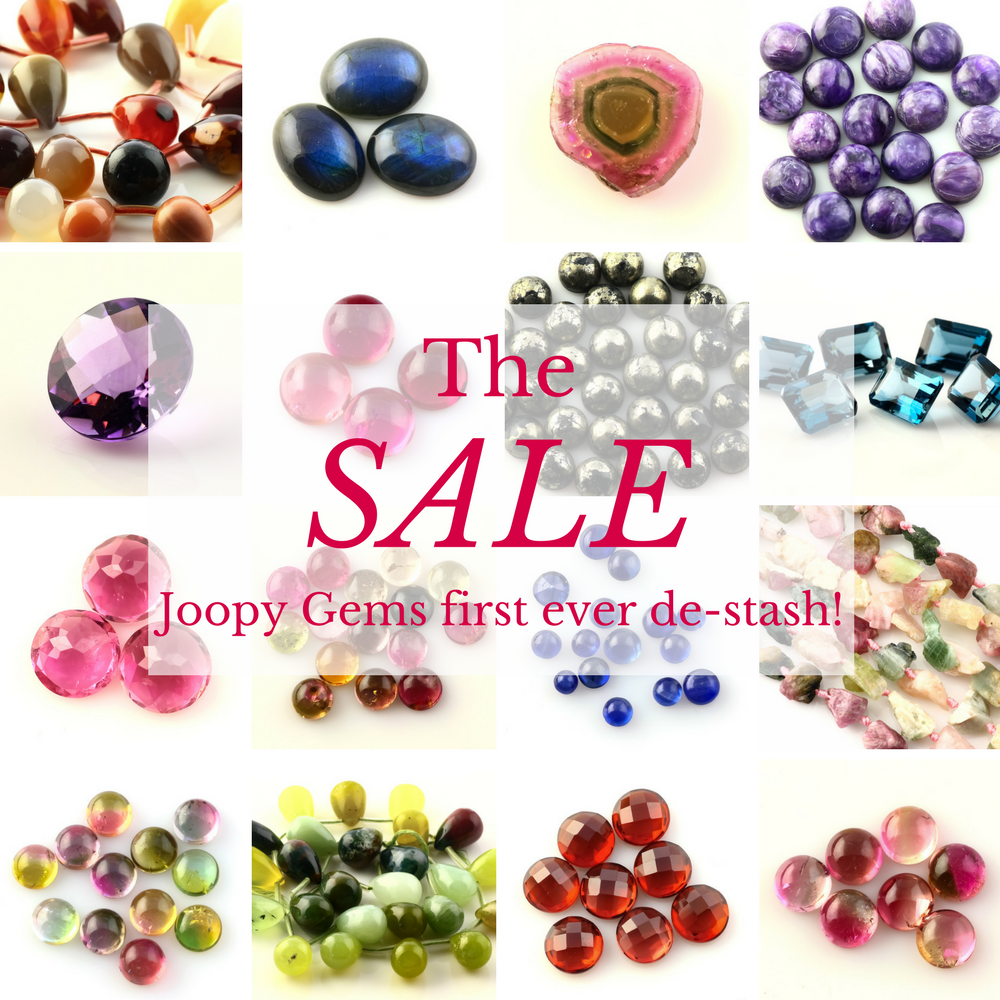 Joopy Gems de-stash sale
