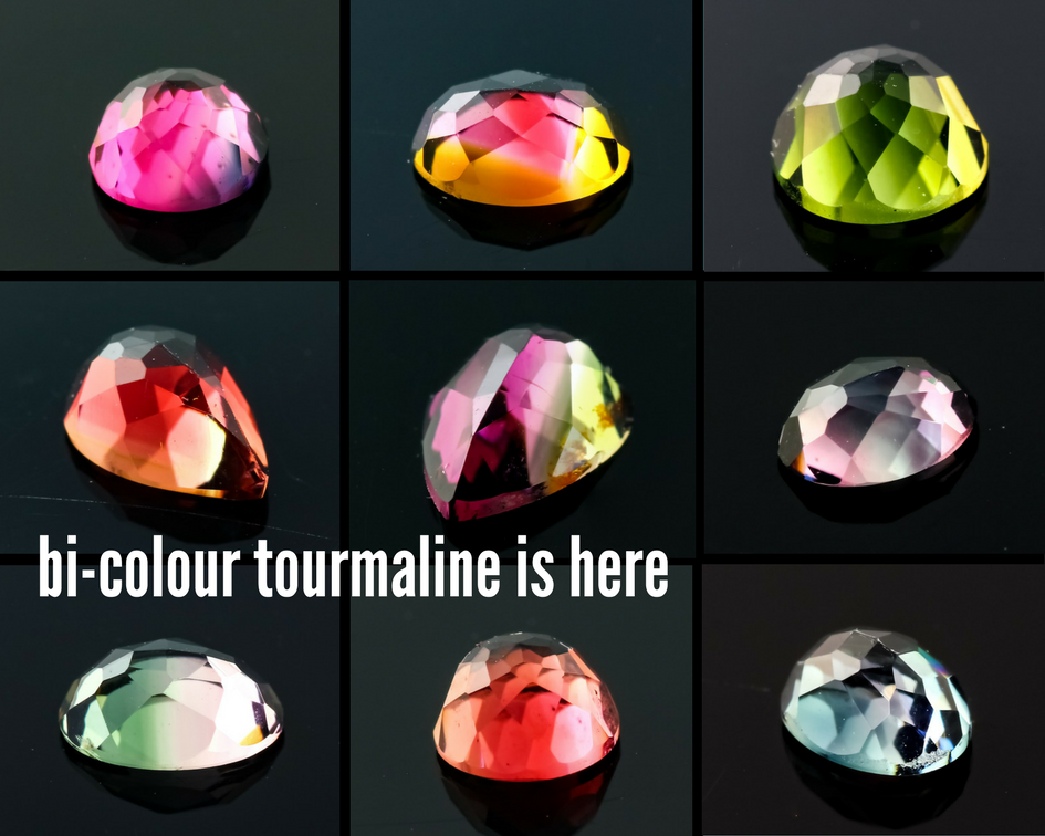 Joopy Gems bi-colour tourmaline header