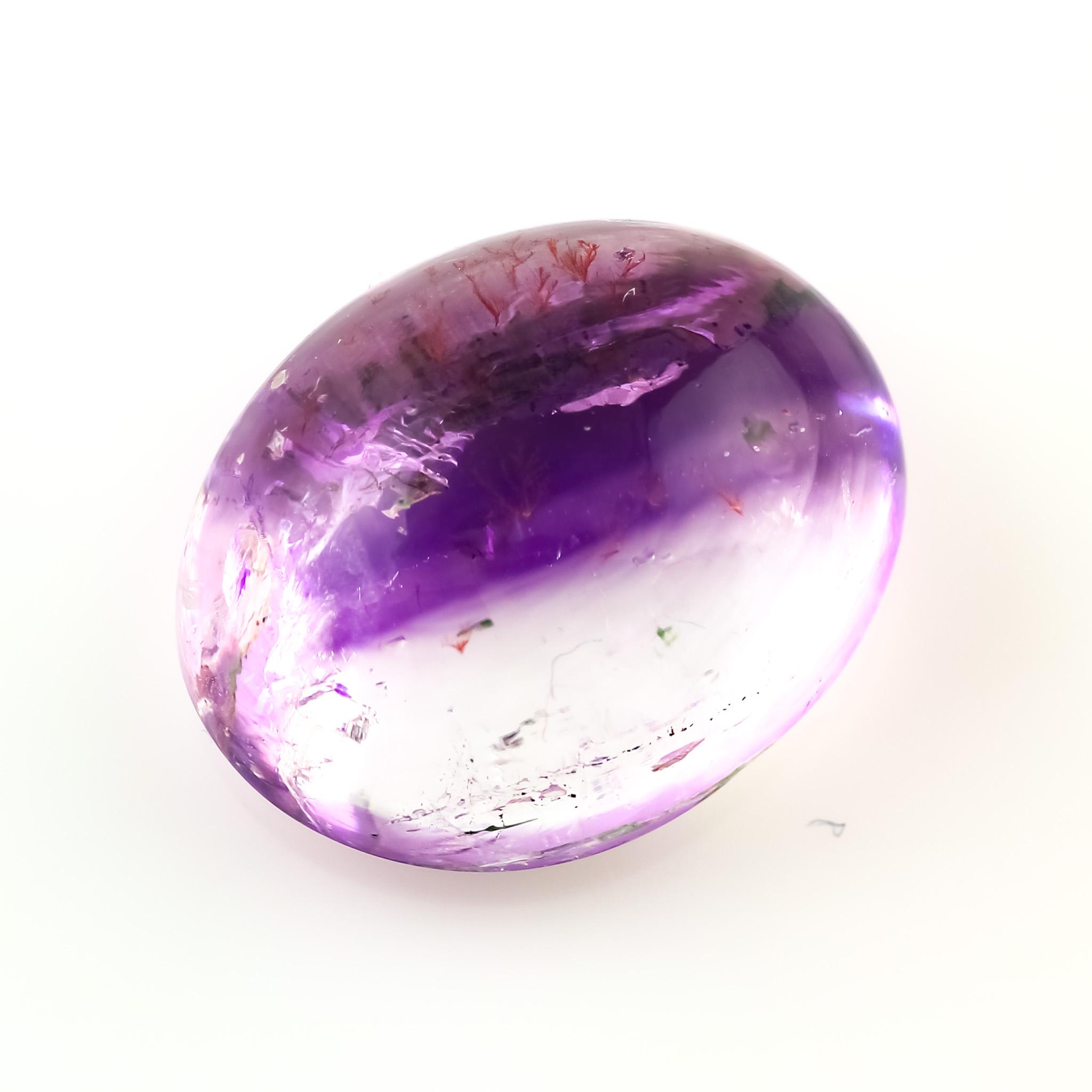 Super Seven Crystal Cabochon  Slice 18