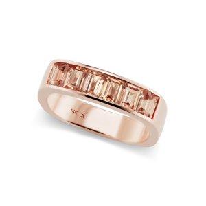 Jane Taylor Malay Garnet and 14k Gold Ring