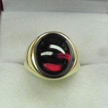 Master Goldcraft Rhodolite Garnet and 18k Gold Ring, $1925