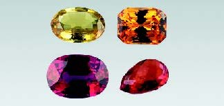 Beryllium treated sapphire, photo GIA, Elizabeth Schrader