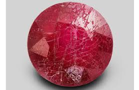 Natural Ruby Glass Filled Oval Shape Stone Glass Filled Ruby Loose Gemstones 9.55 Cts Amazing Faceted Ruby Gemstone Ruby Facet Cut Oval
